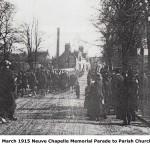 Neuve Chapelle Parade
